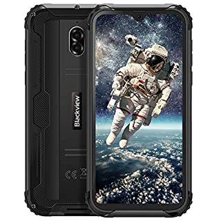 """Unlocked Rugged Smartphones Blackview BV5900 - Rugged Cell Phones with Android 9.0 4G LTE IP68 Waterproof Drop Proof, 5.7"""" Screen 3GB+32GB Dual SIM 5580mAh Battery(Black)"""