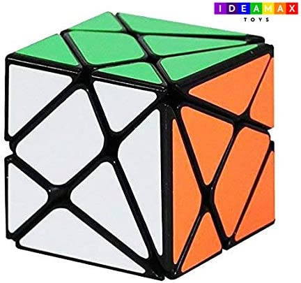VIHAAN 3X3 Axis Cube, Magic Cube, Twisty Puzzle Toy, Cube Game (Multicolor)