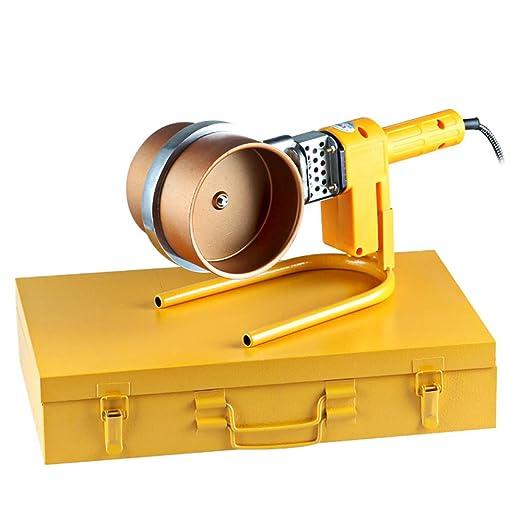 Polifusore Soldadora De Soldar Para Los Tubos De Polipropileno 220V 1000W 50±10HZ Φ75mm 90Mm 110Mm Amarillo: Amazon.es: Bricolaje y herramientas