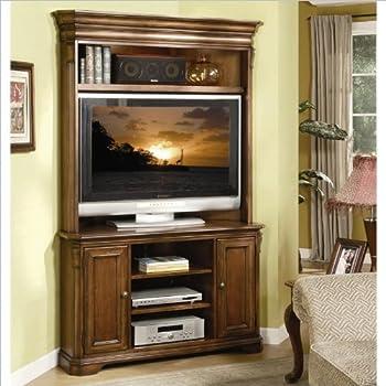 Hooker Furniture Brookhaven Corner Console, Medium Wood