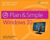 img - for Windows 10 Plain & Simple (2nd Edition) book / textbook / text book