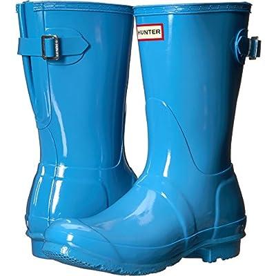 Hunter Womens Original Back Adjustable Short Gloss Rain Boots