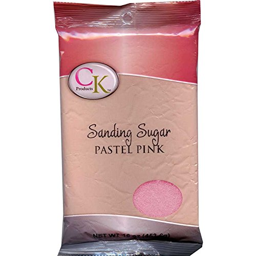 CK Products No.1 Sanding Sugar, Pastel Pink