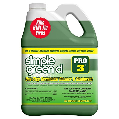 (Simple Green Pro 3, 128 oz. Herbal-Pine Professional Grade Disinfectant)