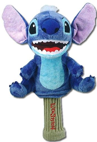 Bridgestone Lilo and Stitch 460 cc plush Driver Headcover Disney Japan, Outdoor Stuffs