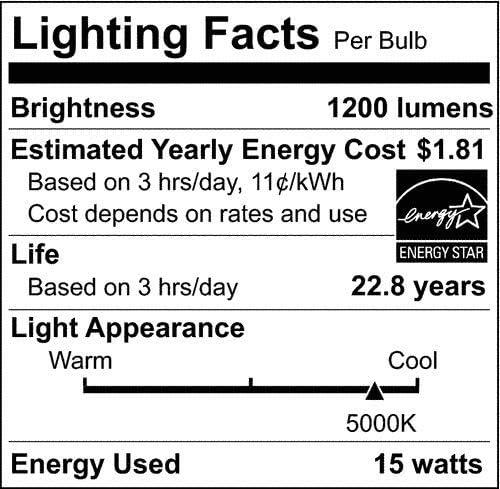 Satco S29453 15 Watt; PAR38 LED; 4000K; 120 Volt 12-Pack California Compliant