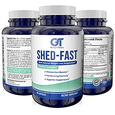 New Weight Loss Thermogenic Fat Burner with Guarana and Green Tea Extract