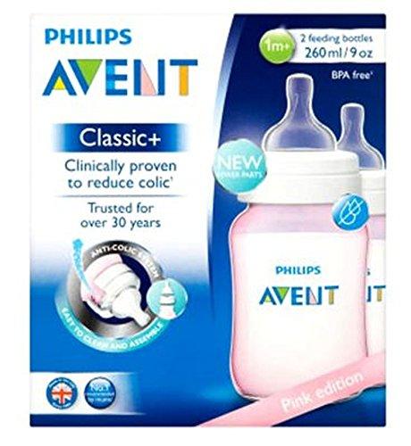 【特別セール品】 フィリップスAventピンク版の古典+ 2哺乳瓶の1メートル+ 260ミリリットル (Avent) (Pack 1m+ (x2) - Philips 2 Avent Pink Edition Classic+ 2 Feeding Bottles 1m+ 260ml (Pack of 2) [並行輸入品] B01MTJYJP7, 美容コスメのビビ:69739347 --- a0267596.xsph.ru