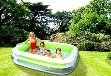 Uberlegen Planschbecken FAMILY Pool 260 X 175 Cm Schwimmbecken INTEX
