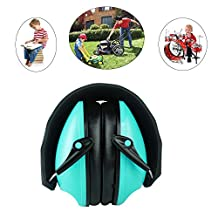 Safety Kids Hearing Protection Ear Muff , Adjustable Noise Cancelling Headphone Super Soft Foam Double Layers Ear Defenders Suit for 3-12 kids by Trivingtech