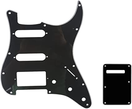 Stratocaster Strat replacement back plate black