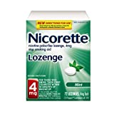 Nicorette Lozenge, Mint , 4mg, 72-Count