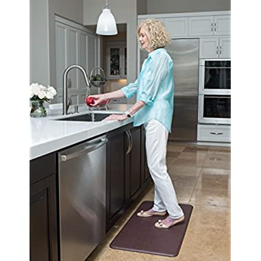 Imprint® Cumulus9 Kitchen Mat Nantucket Series 20 in. x 36 in. x 5/8 in. Cinnamon