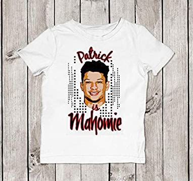 d5922a77 Amazon.com: Kansas City Chiefs Patrick Mahomes Mahomie Baby Bodysuit ...
