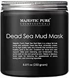 Majestic Pure Dead Sea Mud Mask for Face and Body - Gentle Facial Mask...