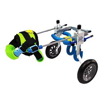 Welhome Silla de Ruedas para Mascotas, ciclomotor Old Scooter para ...