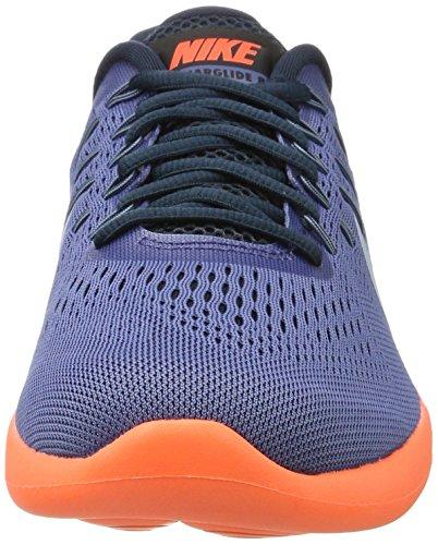 Nike Herren Lunarglide 8 Laufschuhe Blauer Mond / Lt Armory Blue