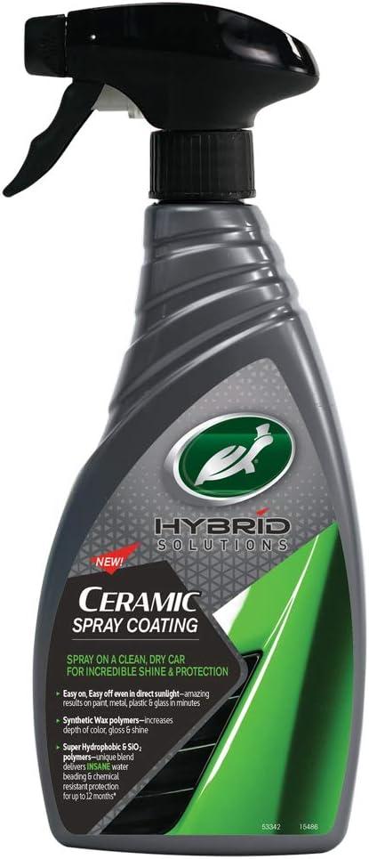 Turtle Wax 53342 Hybrid Solutions Ceramic Wachssprühbeschichtung Für Autos 500ml Auto