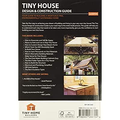 Buy Tiny House Design Construction Guide Paperback May 1 2016 Online In Indonesia 0997288701