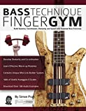 #2: Bass Technique Finger Gym: Build Stamina, Coordination, Dexterity and Speed with Essential Bass Exercises (Play Bass Guitar)