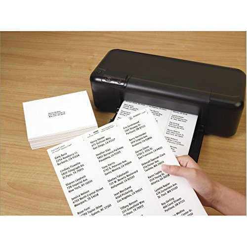 Avery Easy Peel White Mailing Labels for Ink Jet Printers, 1 x 2.62 Inch, Box of 3000 (8460) Photo #4