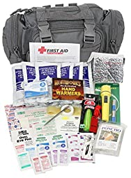 Camillus First Aid 3 Day Survival Kit with Emergency Food and Water, Black (73 Piece Kit)