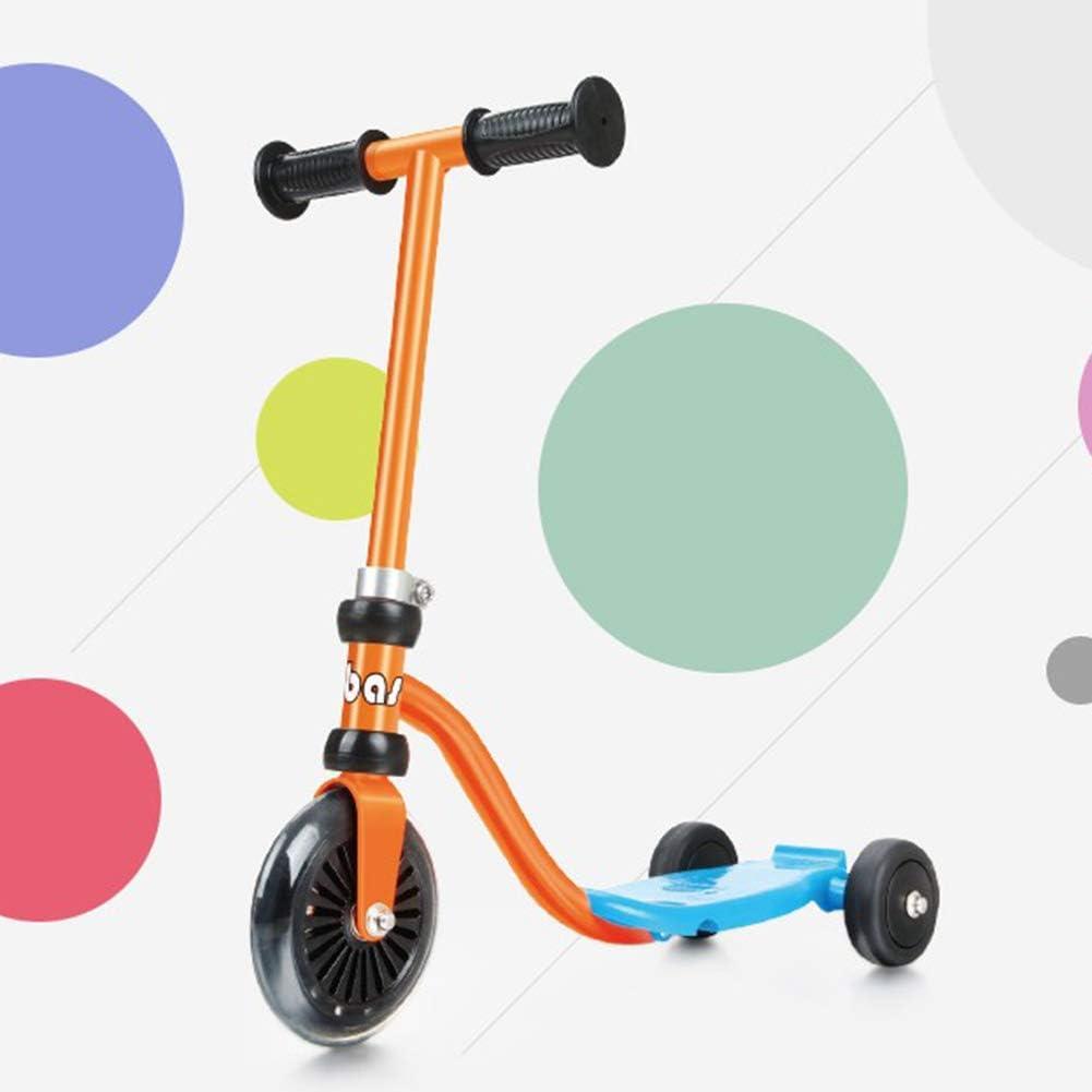 Mini Scooter para Niños para Niños Juguetes Al Aire Libre Patinete De Tres Ruedas para 1-3 Años Bicicleta para Bebé