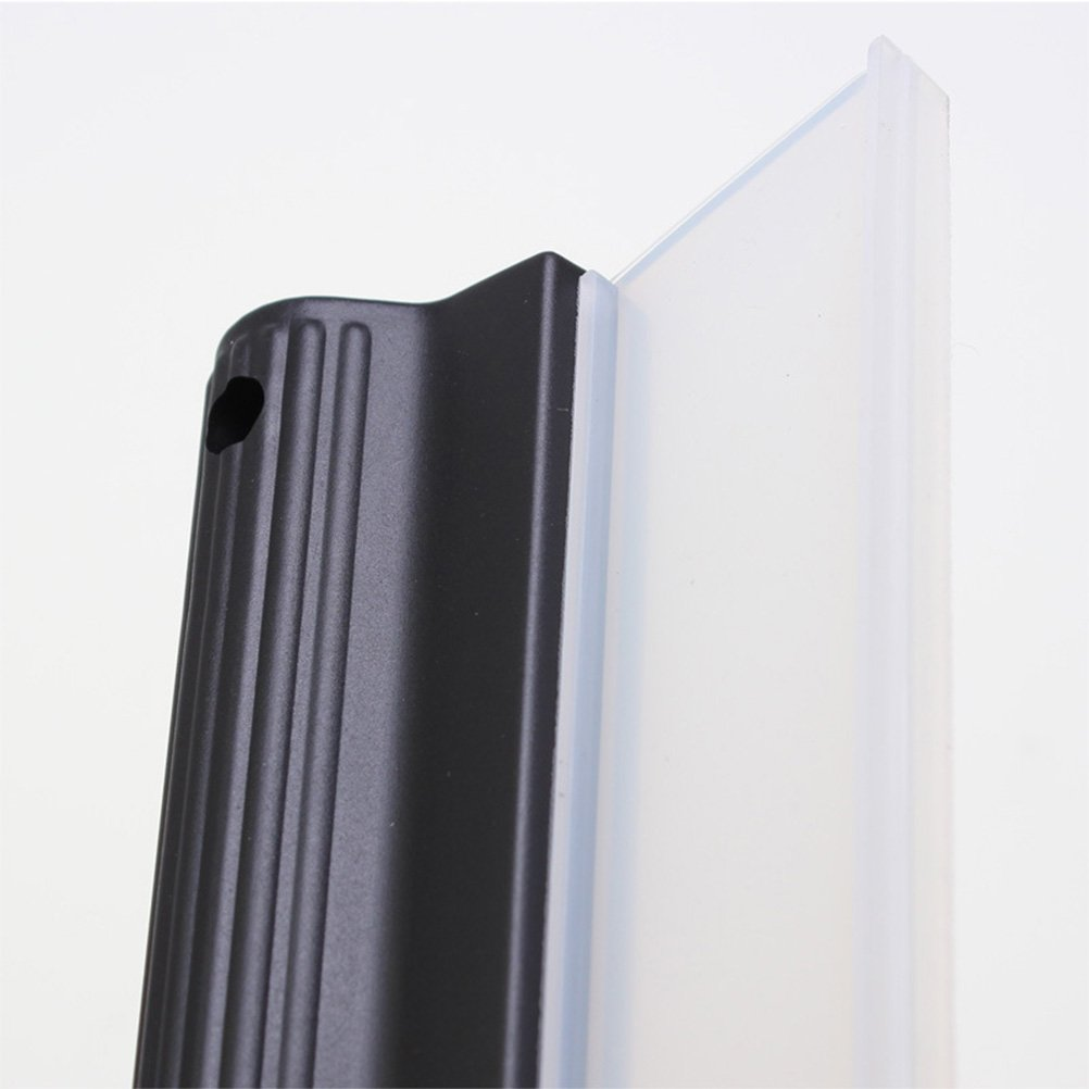 Schwarz VORCOOL Scheibenwischerwerkzeuge Car Body Fensterwischer Wischer Badspiegel Fensterglas Reinigungswerkzeug