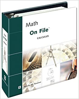 Math on File& #153; Calculus (Facts on File Math Library) by Robert Davenport (2003-09-03)