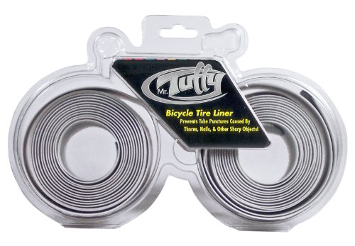Slime Tire Liner - Mr. Tuffy Bicycle Tire Liner (Silver, 26 X 1.5-1.9)