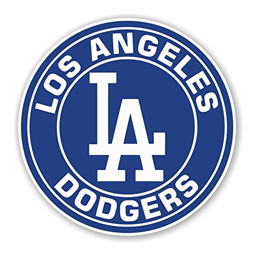 Los Angeles Dodgers Round Die Cut Decal (3