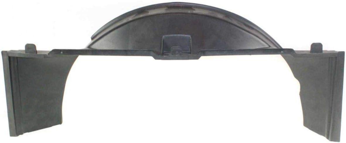 Single Fan GM3110124 New Lower Radiator Fan Shroud For 1994-1994 Chevrolet S10 Blazer And 1994-2004 GMC Sonoma V6