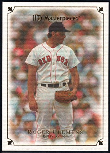 (Baseball MLB 2007 UD Masterpieces #16 Roger Clemens Red Sox)