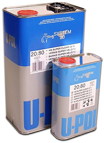 U-Pol Products 2802 Clear System 2080 Hs Coat Paint - 5 Liter