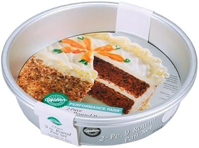 Wilton Aluminum Performance Pans Set of 2 9-Inch Round Cake Set
