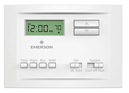 Emerson P150 Single Stage 5-2 Day Programmable Thermostat