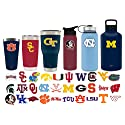 Simple Modern Georgia Tech University 30oz Cruiser Tumbler - Vacuum Insulated Stainless Steel Travel Mug - GT Yellow Jackets Tailgating Hydro Cup College Flask