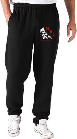 Speed - Pantalón de chándal Negro TR0097 MMA Mixed Martial ...