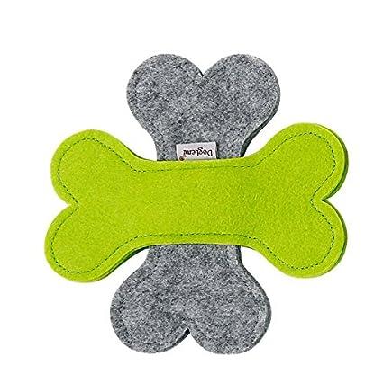 f6906fefab28 Stock Show 1Pc Pet Dog Flying Disc Toy Two-Color Bone Felt Frisbee ...