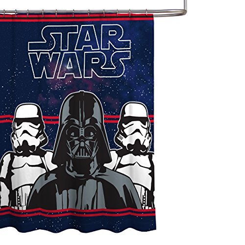 Star Wars Microfiber Fabric Curtain