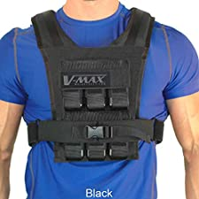 v-max weighted vest for runners men