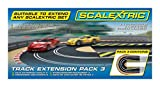 Scalextric C8512 Track Extension Pack 3 - Hairpin Curve 1:32 Scale Accessory by Scalextric