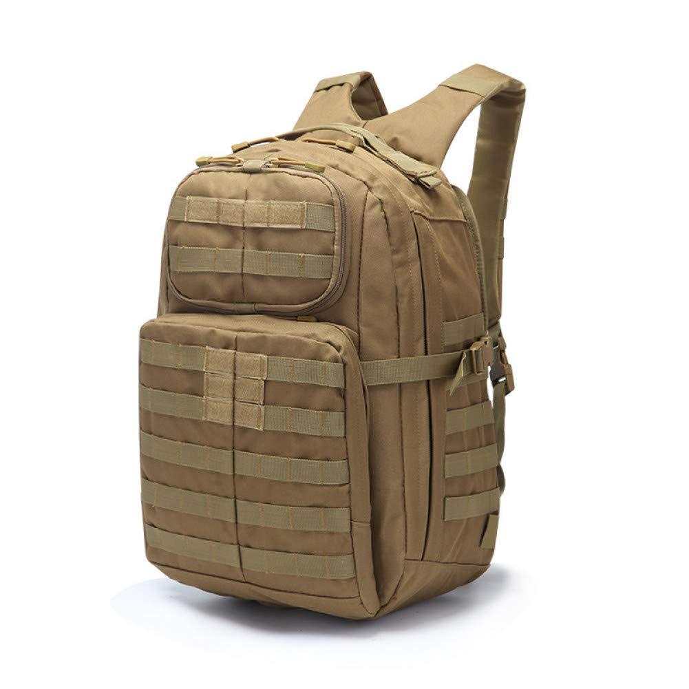 FJYBOA Sac à Dos  Sac à Dos Multifonctionnel en Plein air Molle Bag Sac  Dos Robuste pour épaule Sac à Dos Assault Bug Out Bag kaki -