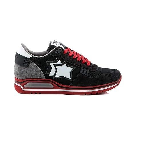 59be8aefa2 Atlantic Stars Sneakers Uomo MOD. Pegasus NAJ08 Nero