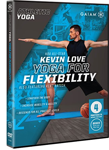 Gaiam Athletic Yoga: Yoga for Flexibility with Kevin - Outlet Athletic