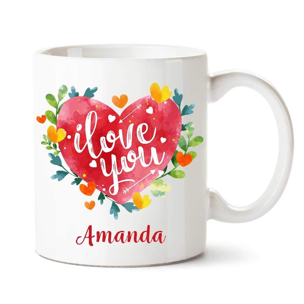 Amanda name Mug