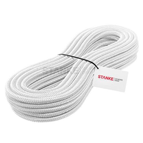 Seilwerk STANKE 1 m 6 mm corda in polipropilene corda intrecciata pp corda bianca corda da ormeggio corda intrecciata corda da ritorto