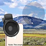 Neewer 37mm Clip-on ND 2-400 Cellphone Camera Lens