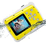 Kids Camera, Vmotal Underwater Action Camera Dust Proof Camcorder Waterproof Sports Camera HD