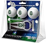 NCAA Colorado State Rams - 3 Ball Gift Pack with Hat Trick Divot Tool